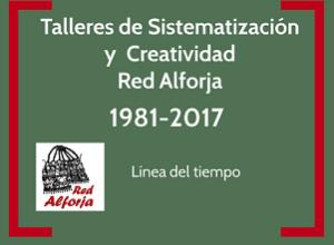 Red Alforja – Linea tiempo 1981-2017